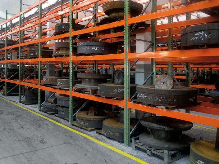 Magazzini portapallet per carichi pesanti