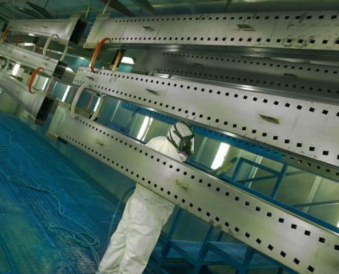 Impianto di verniciatura a polveri
